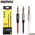 """Кабель AUX """"REMAX RL-L100 3.5"""" 1м"""